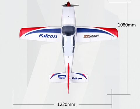 Roc Hobby Falcon Dimensions