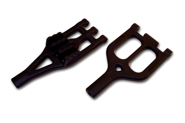 RPM A-Arms for the Associated Monster GT & Thunder Tiger MTA-4 - Black