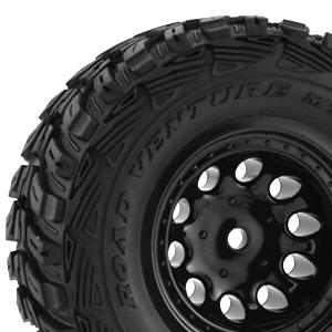 RPM TRAXXAS SLASH 2WD FRONT BLACK WHEELS #RPM82322