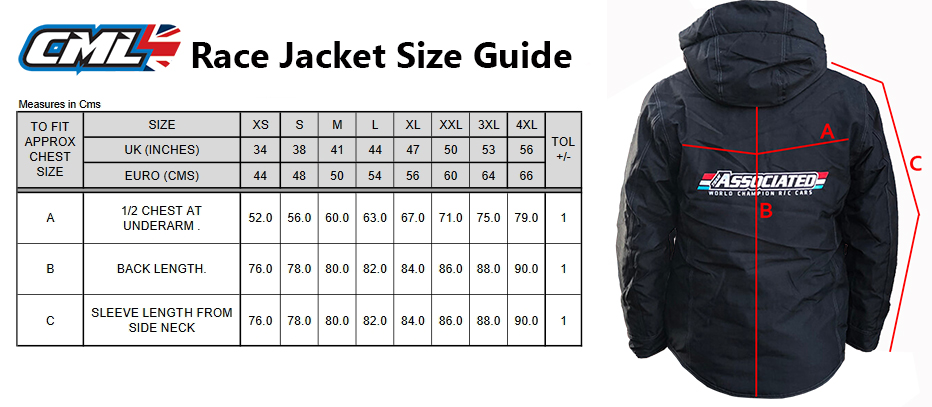 AE Race Jacket Size