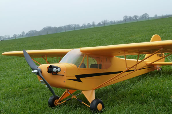 Top Gun Park Flite J-3 Piper Cub 1.4m ARTF Yellow