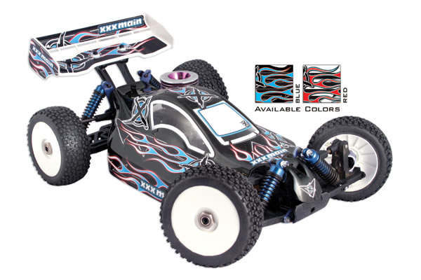 XXX Main 'Ignite' Buggy X-Wrapz Decal Set
