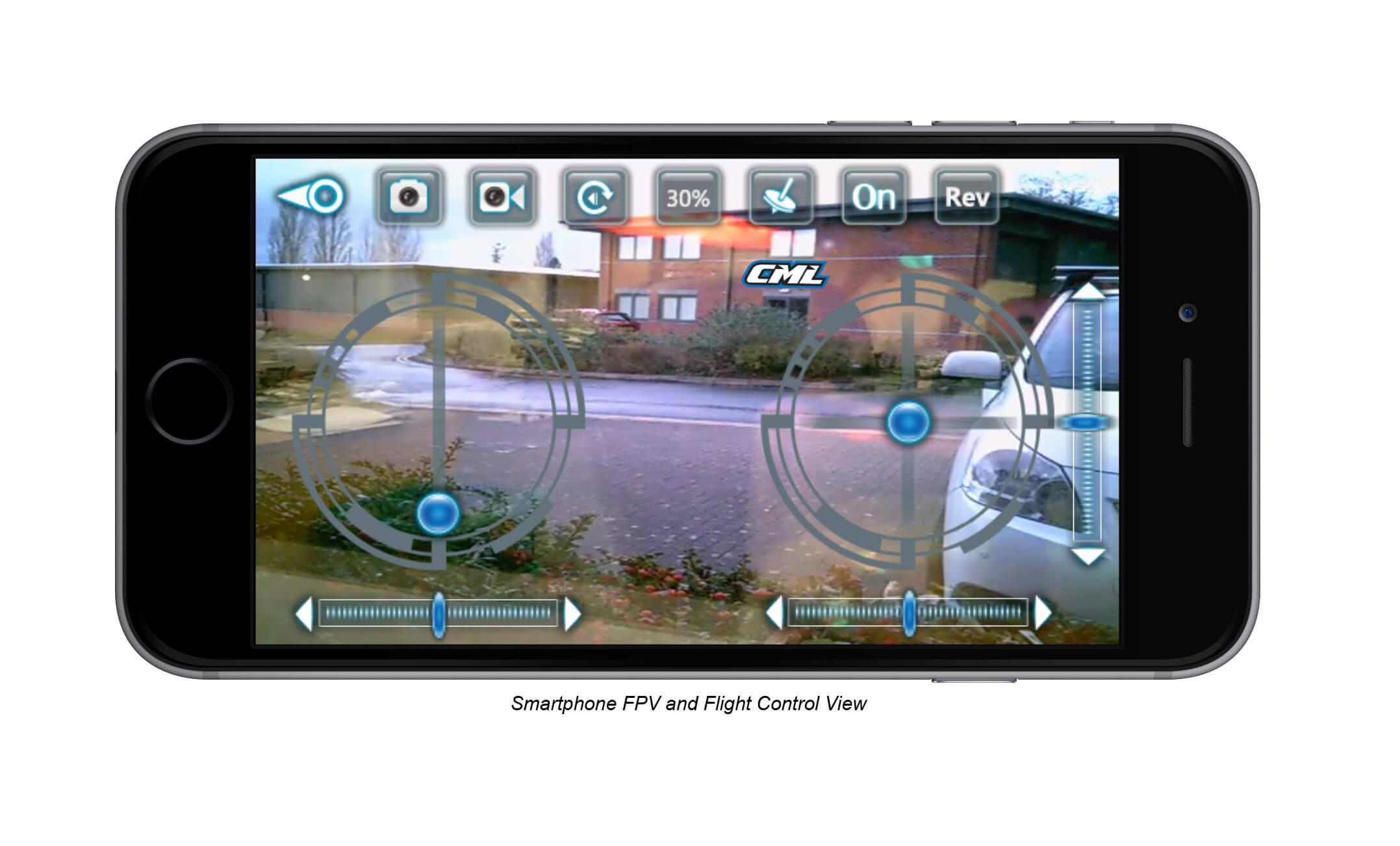 X260 Smartphone View