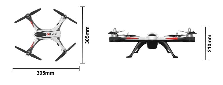 X350 Dimensions