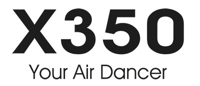 XK INNOVATIONS X350 3D AIR DANCER QUADCOPTER DRONE LOGO